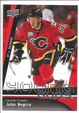 JOHN NEGRIN 2009-10 Upper Deck YOUNG GUNS Rookie Card RC #227