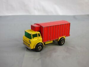 Vintage 1960s Lesney Matchbox Series No 44 Refrigerator Truck Diecast Model Toy