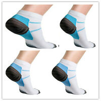 2 Foot Compression Socks For Plantar Fasciitis Heel Spurs Arch Pain Sport Soc 1E