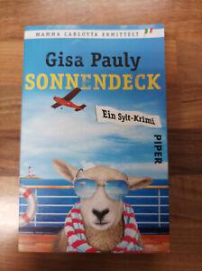 Gisa Pauly Sonnendeck Ein Sylt Krimi Roman