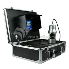 Fish Finder Underwater Fishing Video Recording Camera DVR HD Monitor 100m Cable