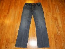 NWT SEVEN 7 DISTRESSED BOOTCUT BLUE JEANS WOMEN'S SIZE 14 - MSRP $79.50