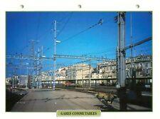 Gares Commutables Stations SNCF DB Train Chemin de Fer Railway FICHE