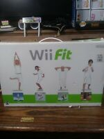 Nintendo Wii Fit Balance Board Complete Set