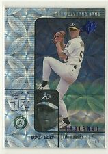 2000 SPX #43 Radiance Parallel #'d 70/100 TIM HUDSON  ROOKIE CARD