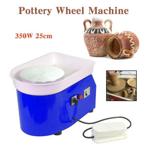 Pottery Wheel Machine Électrique Tour Roue de Poterie Machine DIY 25cm 350W