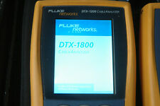 Fluke DTX ELT 1200 model UPGRADE to DTX 1800 ALL options, ALL languages / OFFER