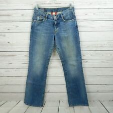 LUCKY BRAND EASY RIDER Jeans Women's Size 2/26 (Actual 28x31) Button Fly USA A3