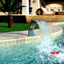 Swimming Pool Waterfall Fountain Water Feature Garden Pond Patio Yard Spa Decor