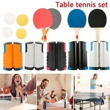 Portable Extendable Net Table Tennis Set UK