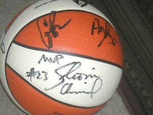 WNBA  All Star 2014 Starting Lineup Complete Team Autographed WNBA Ball  COA