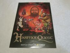 NYCC 2017 Cast Signed Autographed Poster Harmon Quest New York Comic Con