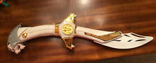 Mighty Morphin? Power Rangers - Tommy White Ranger SABA sword (pre-owned)