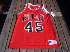 Champion Michael Jordan Chicago Bulls Replica #45 Jersey sz. 40 vtg New NWT
