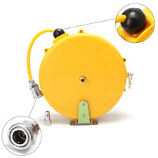 Mini Auto Retractable Air Hose Reel Rewind Compressor Wall Mountable Air Line