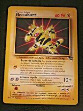 Pokemon card - ELECTABUZZ French promo Black Star  - LP