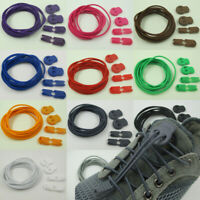 Elastic No-Tie Locking Lazy Shoelaces Shoe Laces With Buckles For Sport Shoes