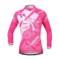 Santic Women Bike Wind Coat Bicycle Waterproof Long Sleeve Cycling Jacket S-XL