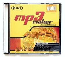 Logiciel : MAGIX MP3 Maker Gold (avec licence) Mint/NEUF
