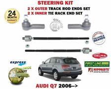 Pour Audi Q7 4L 2006- > 2X Extérieur+2X Volant Intérieur Rack Biellette Embouts