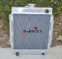 3 Rows Aluminum Radiator for Datsun 1200 Manual MT