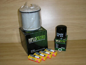 XJ600 Service Kit XJ 600 DIVERSION 92-02 Air Filter Oil Filter Spark Plugs
