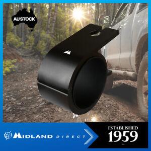 MIDLAND - MB50 BLACK 45/50MM WRAP AROUND BULL BAR UHF ANTENNA BRACKET