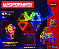 Original Magformers 30 Regenbogen Magnetbaukasten Magnetformen Kiga TOP Qualität