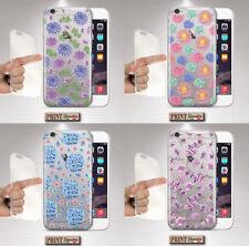 Cubierta para,Iphone,TRANSPARENTE,silicone,suave,fiorita,bonita,animado,fashion
