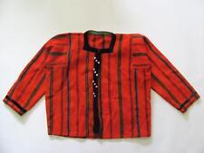 19C. Antique Turkish Ottoman Costume Hand Woven Wool Ladies Vest Yelek
