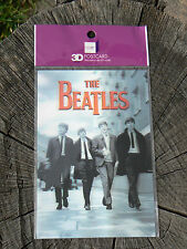 NUOVO Memory Technology cartolina 3D postcard The Beatles