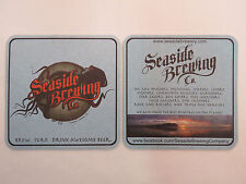 Brewery Coaster    SEASIDE Brewing Co ~ Brew, Surf, Drink Awesome Beer    OREGON