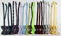 MENS BOW TIE PRE-TIED MEN'S BOWTIE WEDDING FORMAL TIES TUXEDO - MANY DESIGNS !