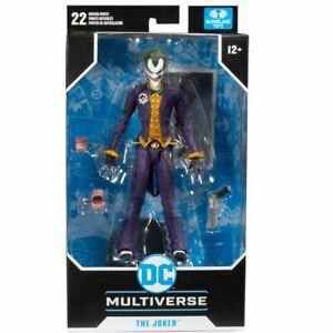 DC Comics Multiverse The Joker Arkham Asylum 7 Inch Action Fig. Mcfarlane Toys