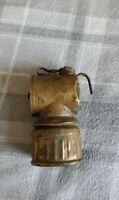 Vintage JUSTRITE Miners Carbide Lamp Lantern Made in USA  Carbide Lamp Mining