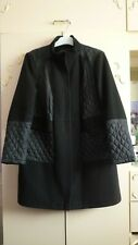 LADIES BLACK COAT SIZE 18 FROM M&S COLLECTION