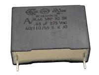 1 condensateur MKP X2 220-230V 0,68µF 0.68µF 680nF 684K 684 K 275Vac 22,5mm uF