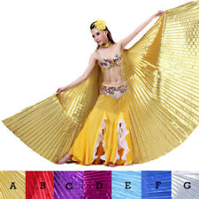 NEW Angle Professional Belly Dance Costume Angle Isis Wings No Stick US Gold