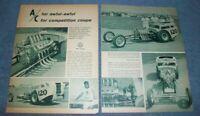 1962 A/Competition Coupe Austin Bodied Vintage Drag Car Article