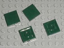 LEGO Star Wars DkGreen tile 2 x 2  ref 3068b / Set 21019 10194 7930 75020 75060