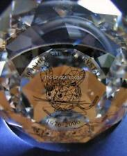 SWAROVSKI 30 YEARS OF SILVER CRYSTAL MOUSE PAPERWEIGHT 866704 MINT BOXED RARE