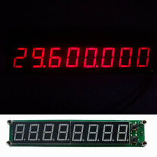 0.1-60MHz 20MHz~ 2.4GHz RF Singal Frequency Counter Meter LED display module red
