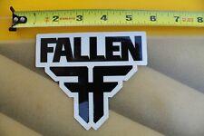 FALLEN Footwear Shoes Skateboard Zero Punk Rock F1 Vintage Skateboarding STICKER