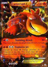 Pokemon TCG XY PRIMAL CLASH : CAMERUPT EX 29/160 ULTRA RARE HOLO