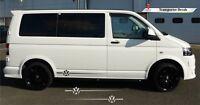 Volkswagen Style Transporter T5 T4 T6 Decal Vinyl  Camper Van ANY COLOUR