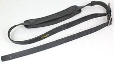 TAKAMINE Japan Guitar Bass Leather Strap TGS-7 BL Black for Acoustic Electric