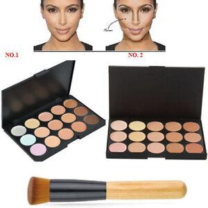 15 Shades Colour Concealer Contour Makeup Palette Kit Make Up Set FAST DISPATCH
