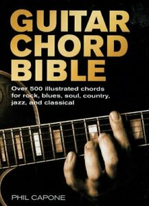 Guitar Chord Bible (Music Bibles) by Capone, Phil Book The Fast Free Shipping