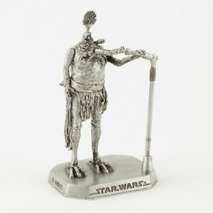 Sy Snootles from ROTJ   Vintage 1990s Star Wars Figure by Rawcliffe Pewter