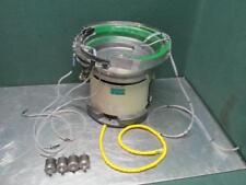 Piezo Bowl Feeder Type PEF-230AL VibratoryParts Feed Bowl